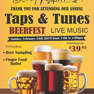 Pepperwood Beerfest - Sunday February 24th, 2019