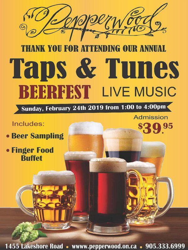 Pepperwood Beerfest - Sunday February 24th, 2019